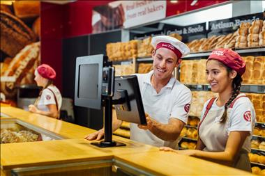 Bakery franchise opportunity with average weekly sales in excess of $14,000