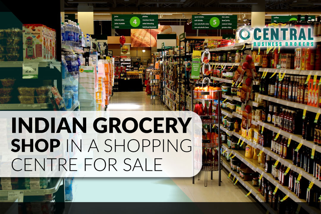 Indian Grocery Shop in a Shopping Centre for Sale