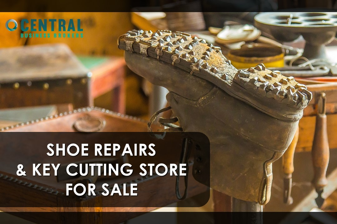 SHOE REPAIR STORE IN BUSY RETAIL STREET FOR SALE