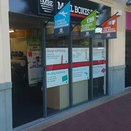 Business Services Franchise Business - Mail Boxes Etc.
