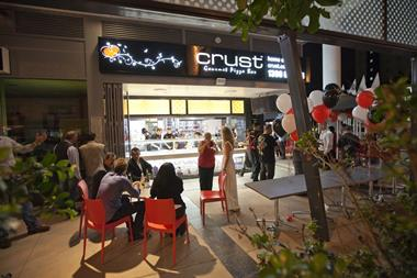 Crust Gourmet Pizza Bar stores available in Carindale. Enquire now!