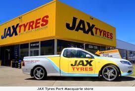 JAX Tyres in Sydney