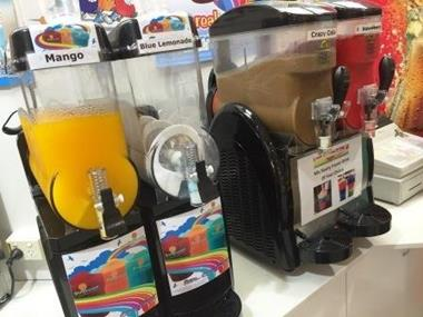 Coffee and Juice Bar with Snacks