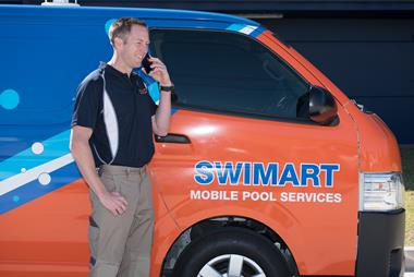 Swimart, Australia's pool & spa specialist. Mobile franchise, Hunter Valley