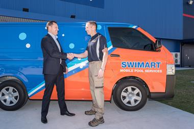 Swimart, Australia's pool & spa specialist. Mobile franchise, Central Coast