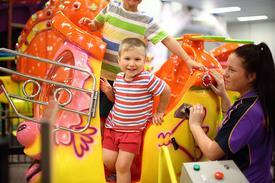 Chipmunks Children's Playland & Cafe Franchise - $550,000