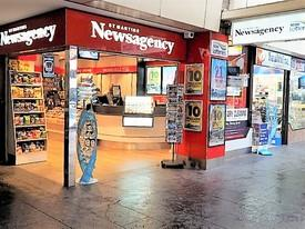 St Martin's City Newsagency-Lotto-Lottery. Includes Massive Office Deliveries