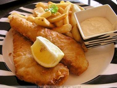 FISH & CHIPS -- SOUTH EASTERN SUBURB -- #3954961
