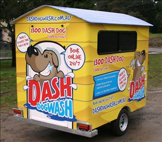 Mark your own territory with Dash DogWash Clip & Groom.