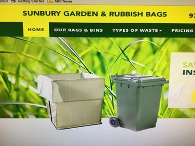 Rubbish Removal Garden Bag/Wheelie Bin Service
