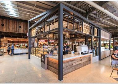 New Muffin Break Kiosk Bakery Cafe at Secret Harbour, WA