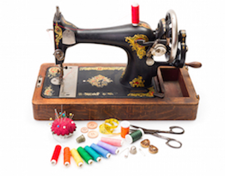 Purchase part of history with this Sewing Shop
