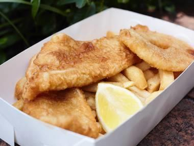 Takeaway Food – Fish and Chips – Sydney Inner West