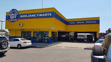 Bob Jane T-Marts Darwin Franchise Opportunity (Tyres, Wheels and Batteries)