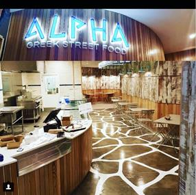 ALPHA GREEK STREET FOOD NORTHLAND SHOPPING CENTRE & GREENSBOROUGH PLAZA