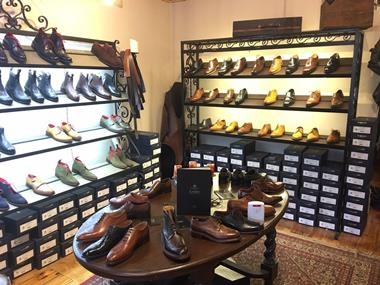 High End Shoe Retailer and Shoe Repair Business For Sale