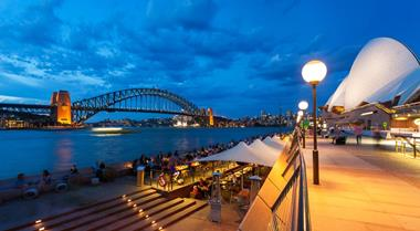 Souvenir and Gift Shop with Sydney Harbour Bridge Views