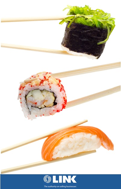 6 days Sushi Takeaway Shop Japanese Cuisine For Sale! Low rent!