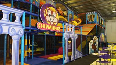 Chipmunks Playland & Cafe Franchise for sale. $299,000 plus SAV. Morayfield Qld