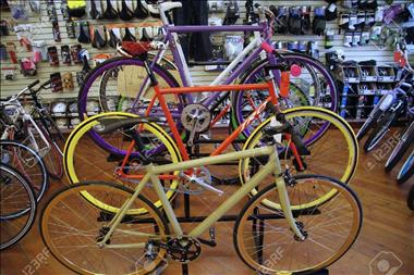 Business For Sale: Dream location for a Bicycle Shop Owner.