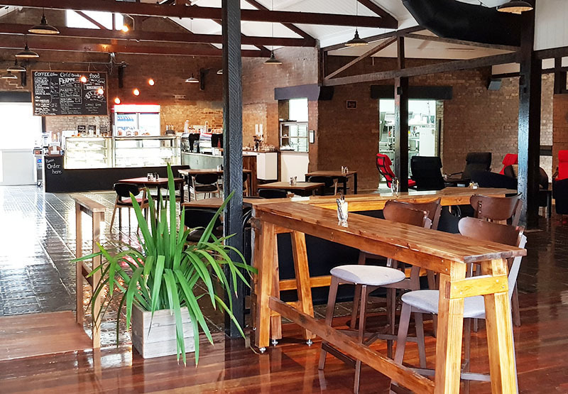 Coffee Anda - Urban Industrial cafe in historical bakery