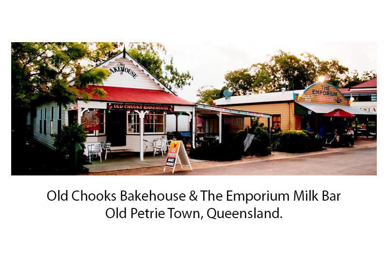 Two Iconic Businesses in Popular Old-Time Tourist Hotspot