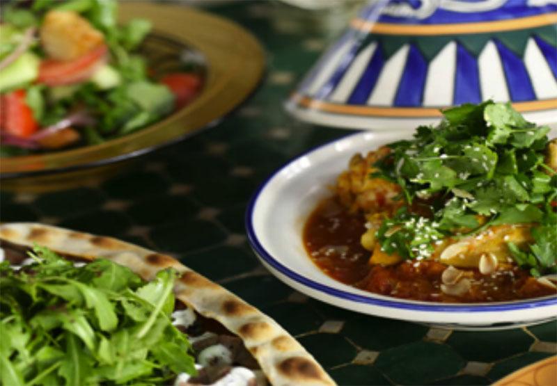 Modern North African & Middle Eastern Restaurant