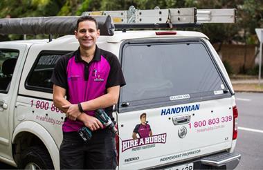 Hire A Hubby – Property Maintenance Franchises available - MELBOURNE