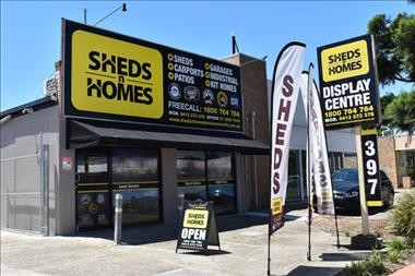 No stock holding/No royalties/Low entry cost/Great ROI - Sheds n Homes - Darwin