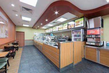 Submarine Sandwich Franchise - Short hours, Office park location