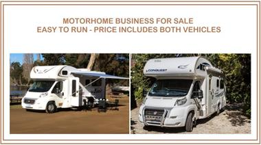 Motorhome Hire  Operate From Home - 1-2 hrs pw - Minimum $30,000 Return