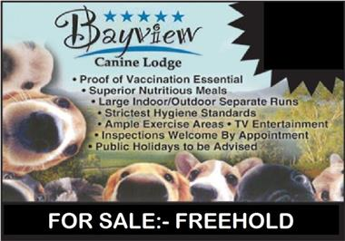 THE ULTIMATE BUSINESS AND LIFESTYLE - BOARDING KENNELS SELLING FREEHOLD