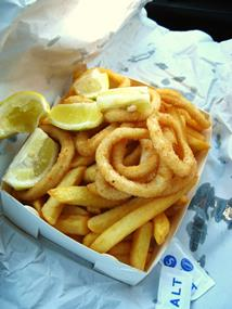 FISH & CHIPS, TAKING $450,000 PA, CHELSEA AREA, PRICED AT $168,000, REF 6238