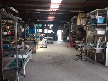 STEEL FABRICATION BUSINESS, $600,000 PA, CAMPBELLFIELD,  $109,888, REF 6359