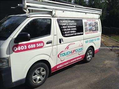 Touch Up Guys - Ringwood - Urgent Sale - Mobile Paint & Bumper Repairs