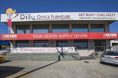 Dexion Canberra & Dizzy Office Furniture