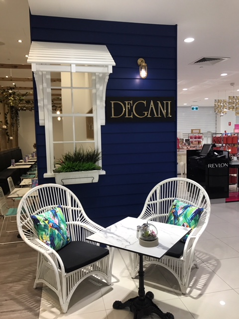 Degani - Amazing new cafe inside Myer store Townsville. Low rent. Great business