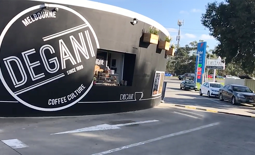 Degani - New drive thru cafe at Rowville. Only $125,000. Finance available.