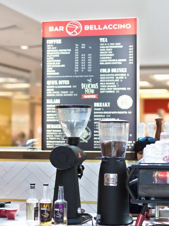 Coffee Business : Bar Bellaccino Franchise  -Premium Cafe- Westfield Liverpool