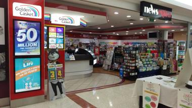 NEWSAGENCY – Brisbane Southside Shopping Centre ID#3878928 – No home delivery