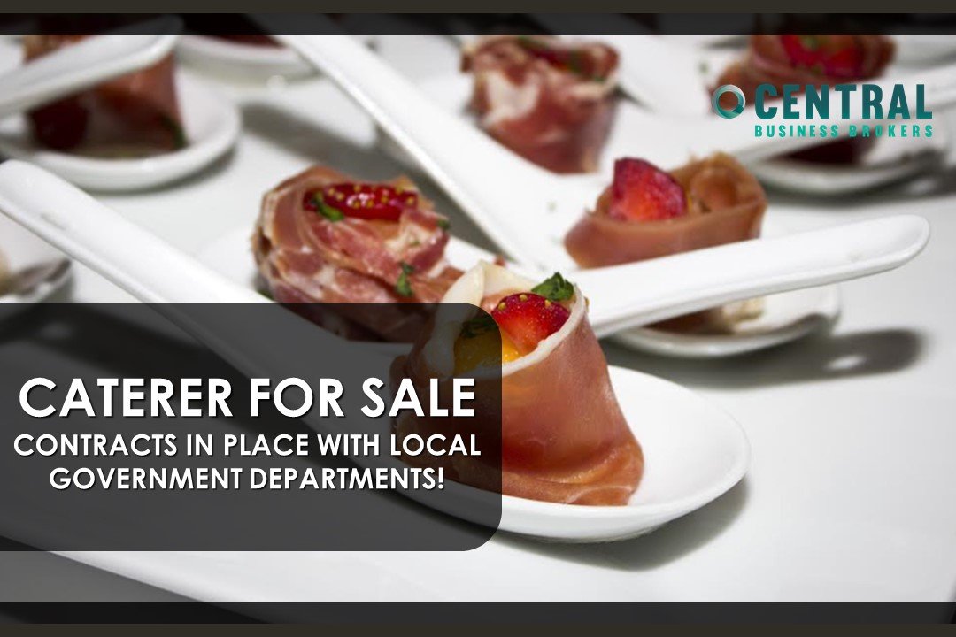 CATERER FOR SALE WITH CONTRACTS IN PLACE WITH LOCAL GOVERNMENT DEPARTMENTS