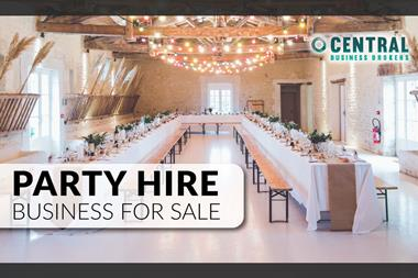 Party Hire Business for Sale