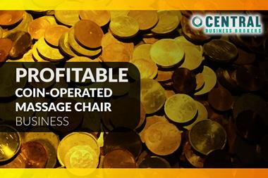 Profitable Coin-Operated Massage Chair Business