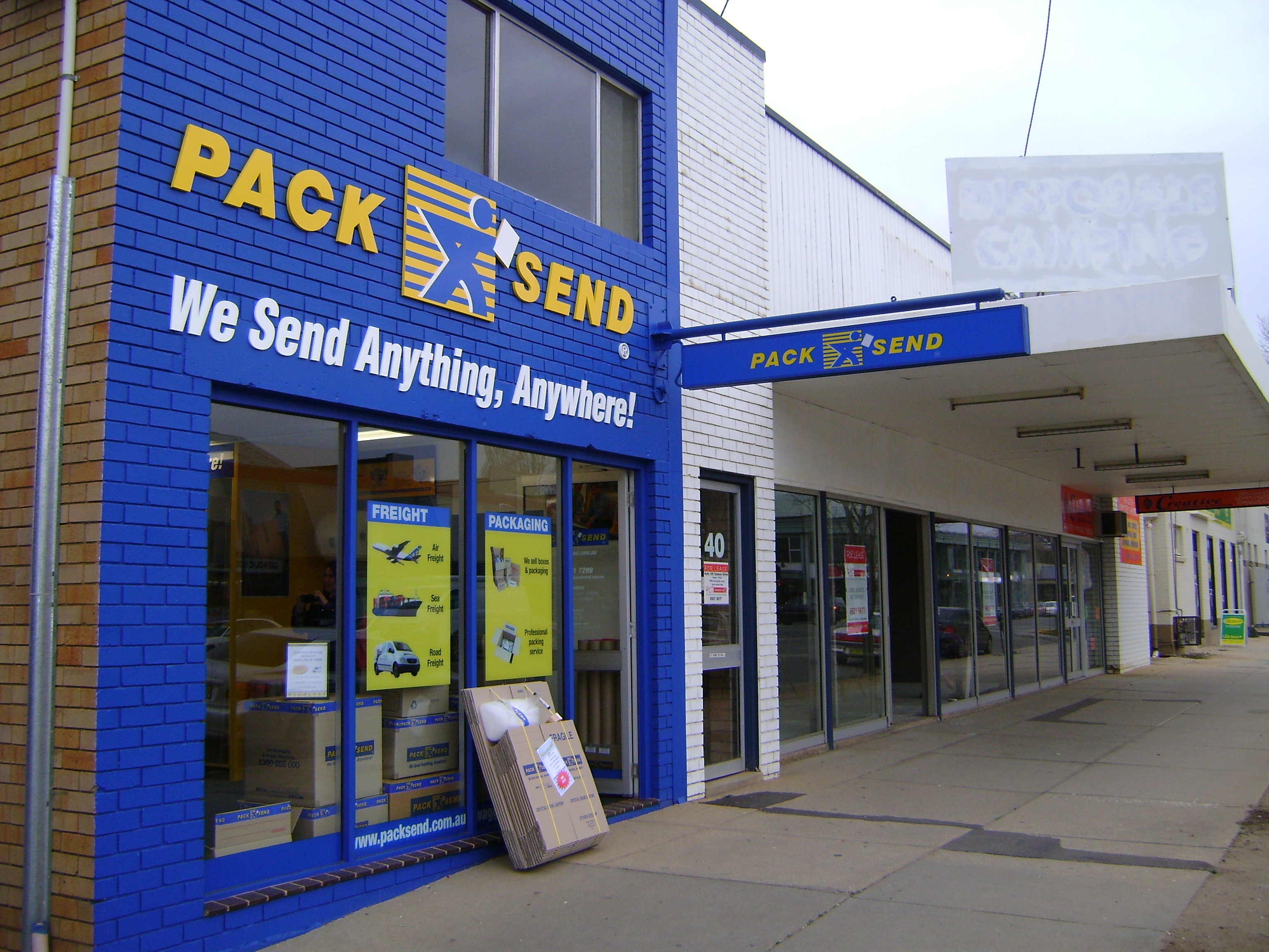 Courier, Freight, Shipping - PACK & SEND Wagga Wagga, NSW