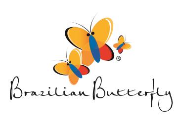 Brazilian Butterfly Australia Logo