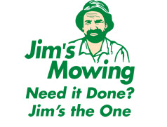 Jim's Mowing Logo