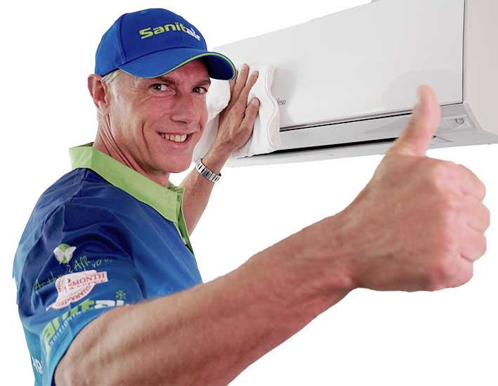 SANITAIR AIRCON CLEANING & SANITISING - Just $4995.00 Inc Training & Equipment