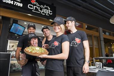Crust Gourmet Pizza Bar stores available in Marriott Waters S/C! Enquire now.