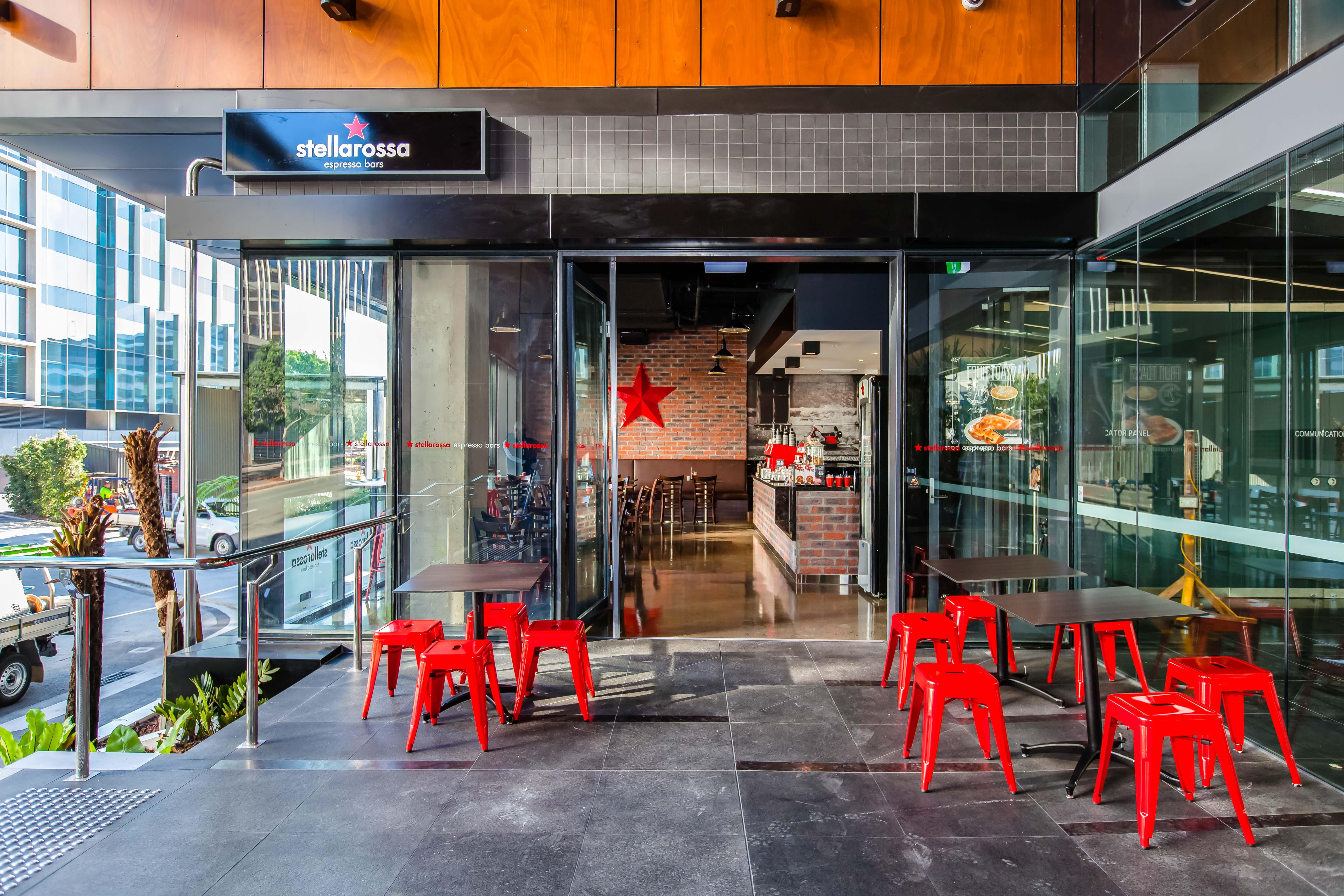 Existing Stellarossa Cafe - Brisbane CBD Location