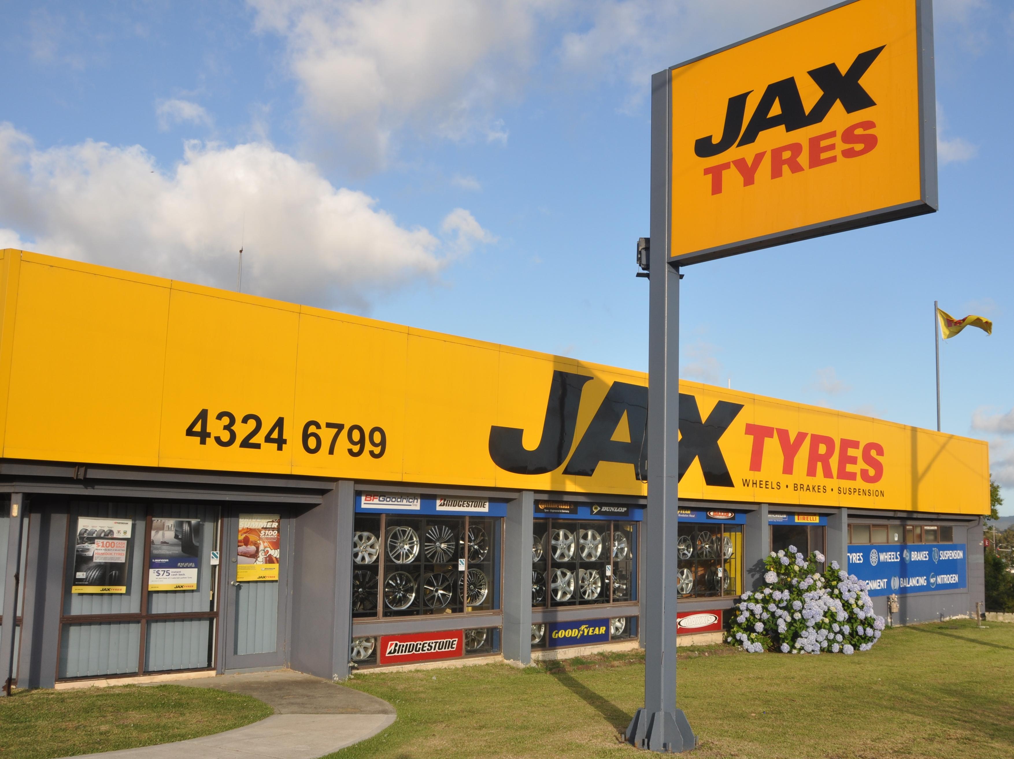 JAX Tyres Gosford
